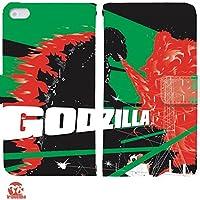 GODZILLART 手帳型 iPhoneSE (iPhone SE) iphoneSE(G005502_05) 専用 ゴジラ pop art センス 個性的 スマホケース