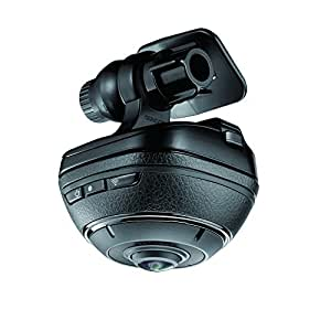 カーメイト ドライブレコーダー 360度(前後左右) 撮影 ダクション360 超広角SONYセンサー使用 駐車監視 アクションカメラ 4K相当 DC3000
