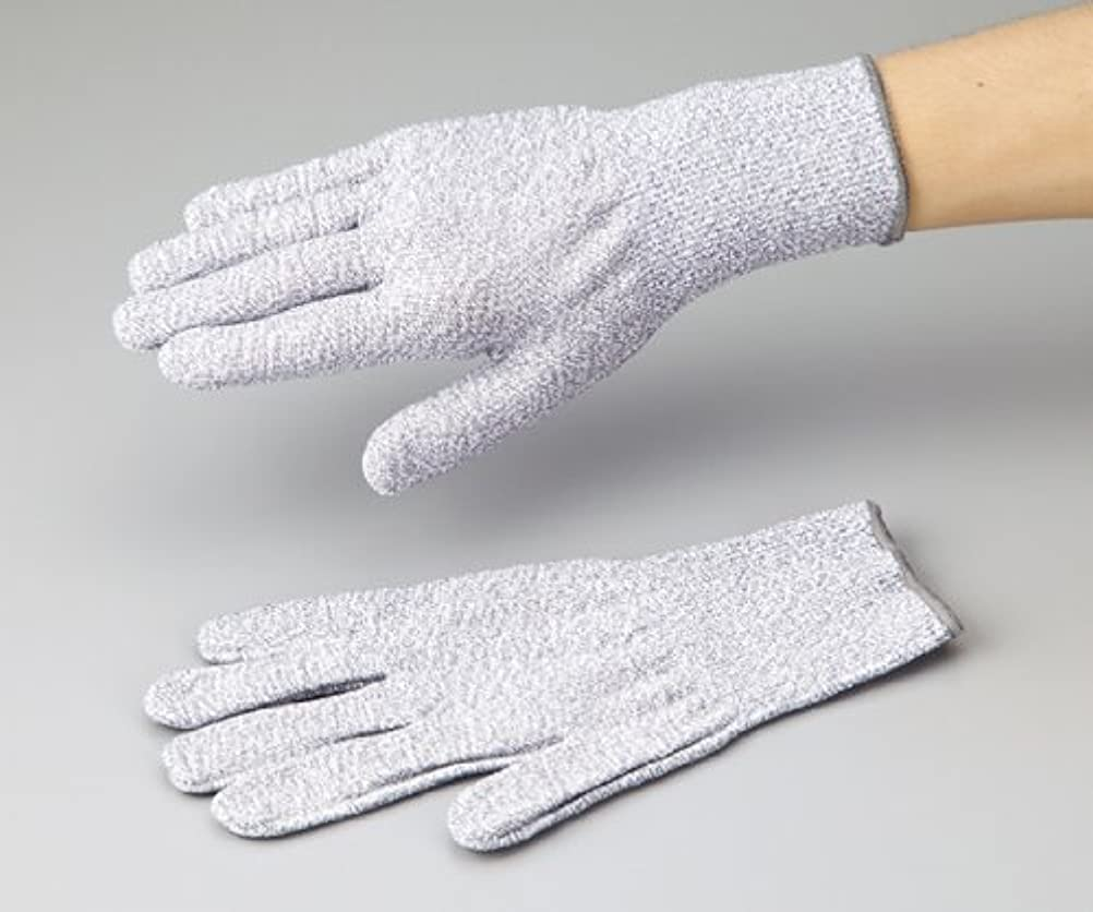 単に吐き出すマイクロアズワン1-242-01アズセーフ耐切創手袋コーティング無しLカットレベル5