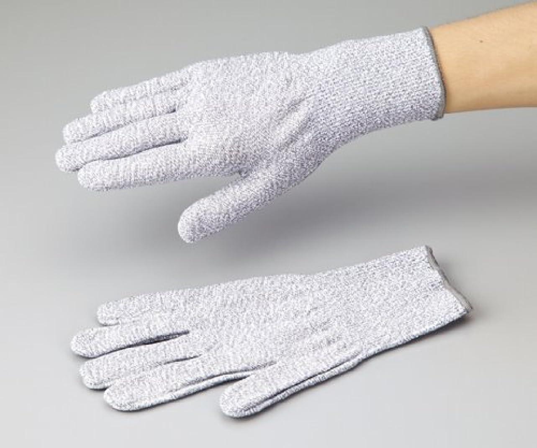 ホイール故意のチャンピオンアズワン1-242-02アズセーフ耐切創手袋コーティング無しMカットレベル5