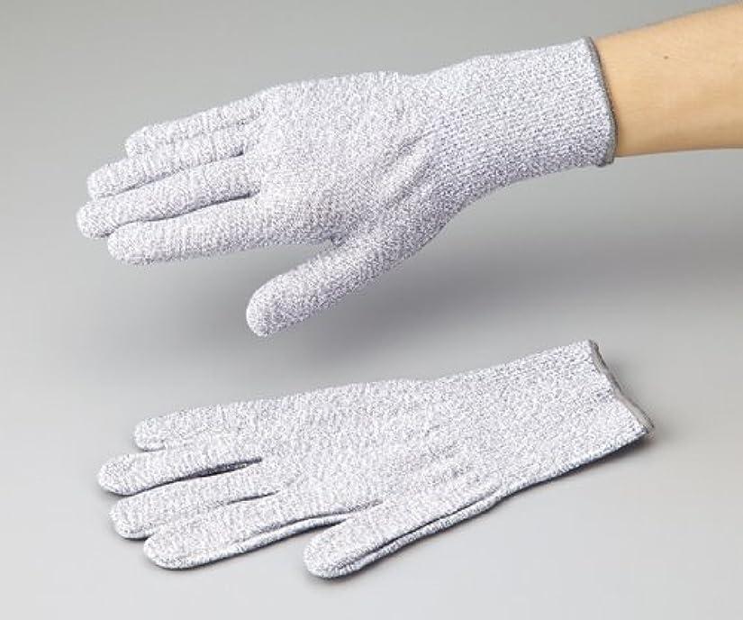 国民保有者敬意を表するアズワン1-242-02アズセーフ耐切創手袋コーティング無しMカットレベル5