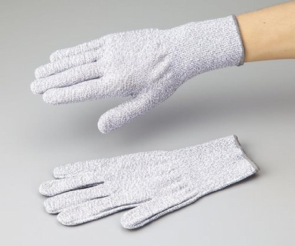 孤児祖父母を訪問オフアズワン1-242-02アズセーフ耐切創手袋コーティング無しMカットレベル5