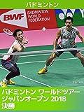 バドミントン ワールドツアー ジャパンオープン2018 決勝