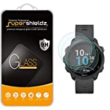 (3 Pack) Supershieldz for Garmin Forerunner 245 and Forerunner 245 Music Tempered Glass Screen Protector, Anti Scratch, Bubble Free