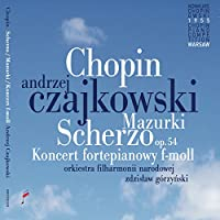 CHOPIN/ PIANO CONCERTO IN F MINOR & MAZURKAS & SCHERZO