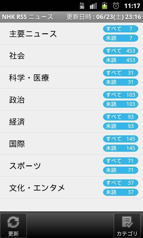 NHK RSSニュース