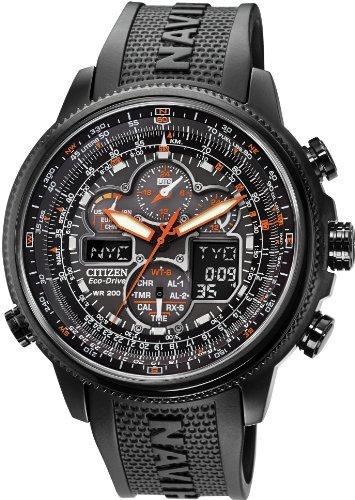 [シチズン]CITIZEN 腕時計 NAVIHAWK ECO-DRIVE ATOMIC ナビホーク エコドライブ ラジオコントロール JY8035-04E メンズ [逆輸入]