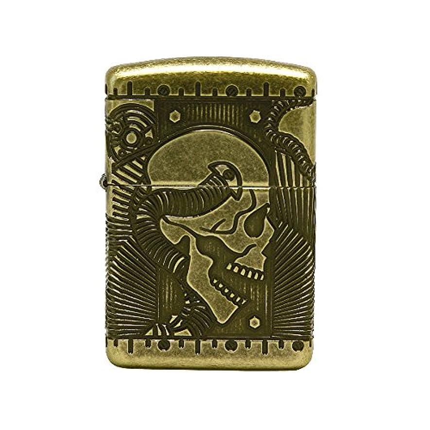 有効かすれた犯すZippo Steam Punk 29268 Lighter ライター / 正真正銘の本物 / オリジナルパッキング(6フリントセット フリーギフト) [並行輸入品]