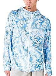 PONTAPES(ポンタペス) 無地8色 柄12色 ラッシュガード パーカー メンズ レディース S M L XL XXLサイズ 長袖 UVカット UPF50 + 指穴つき