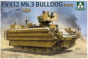 タコム 1/35 イギリス軍 FV432 Mk.3 ブルドッグ 装甲兵員輸送車 プラモデル TKO2067