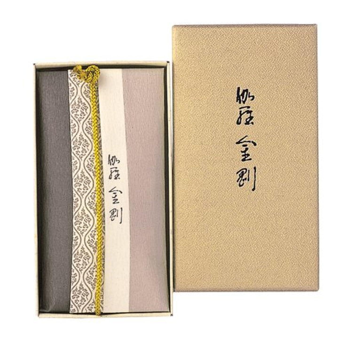 原稿学士雄弁な香木の香りのお香 伽羅金剛 コーン24個入