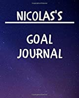 Nicolas's Goal Journal: 2020 New Year Planner Goal Journal Gift for Nicolas  / Notebook / Diary / Unique Greeting Card Alternative