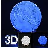 Best DSstylesカメラ - DSstylesシミュレーション3d Moon 10/15cm夜ライトランプUSB充電式Moonlightデスクランプ照明with木製Base Kid子ギフト JX-zuheHome0614-04 Review