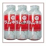 250グラム【目安として約107粒】 シマダ大瓶 固形ラムネ菓子×3瓶【3h】