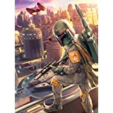 Star Wars - Fine Art Collection - Boba Fett - 1000 Piece Jigsaw Puzzle