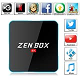 Zenoplige ZEN BOX Z2 4K アンドロイドTVボックス Fully Loaded Android 6.0 Amlogic S912 Cortex-A53 64bits KODI GoogleスマートTVチューナー(2G+16G)