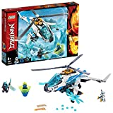 LEGO Ninjago ShuriCopter 70673 Kids Toy Helicopter Building Set with Ninja Minifigures and Toy Ninja Weapons, Model Helicopter for Boys and Girls, New 2019 (361 Pieces)