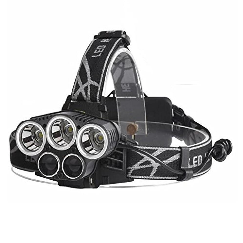 無条件かすかな小説1stモール 多機能 アウトドア LEDヘッドライト 超高輝度10000ルーメン 防水仕様 5段階点灯 ST-EXPOLIGHT