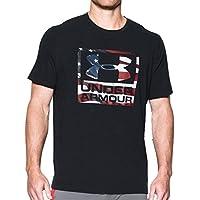 UNDER ARMOUR(アンダーアーマー) ヒートギア UA フリーダム ロゴ 半袖 メンズ Tシャツ 1300404 [並行輸入品]