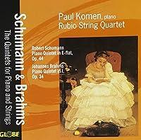 Schumann/Brahms: Pno Quintets