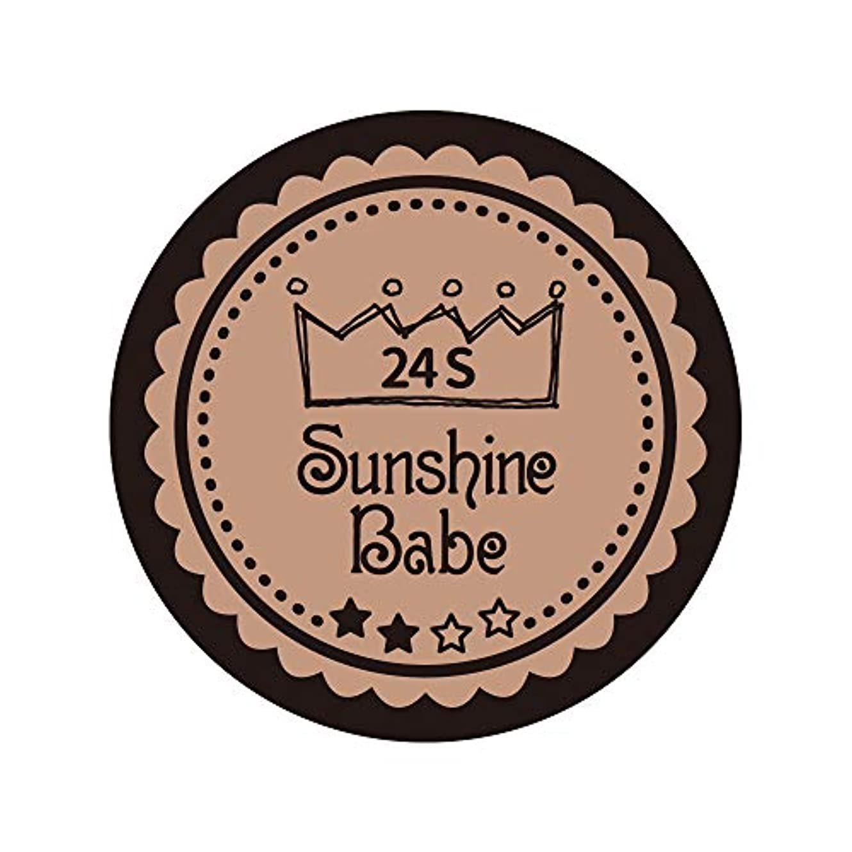 ギネスケーキ彫刻Sunshine Babe カラージェル 24S ベージュローゼ 2.7g UV/LED対応
