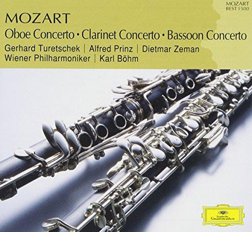 モーツァルト:オーボエ協奏曲の詳細を見る
