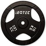 IROTEC (アイロテック) アイアンプレート15KG / バーベル兼用プレート