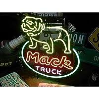 ネオンサイン Mack TRUCK ブルドッグ ネオン管 ネオンライト 店舗照明 ガレージ アメリカン雑貨