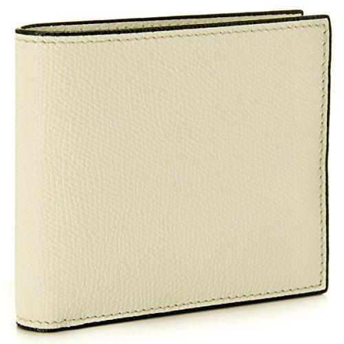 Valextra(ヴァレクストラ) 財布 メンズ グレインレザー 2つ折り財布 ホワイト V8L04-028-000W[並行輸入品] [ウェア&シューズ]