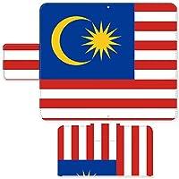 Ascend P7 ☆ ケース・カバー 完全受注生産 完全国内印刷 スライド式スマホケース 手帳型 国旗 マレーシア SIMフリー SIMカード シムフリー スマホカバー オリジナルデザイン プリント 日本製