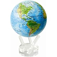 4.5 Blue with Relief Map MOVA Globe