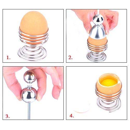 エッグ シェル カッター 卵 殻 割り 器 (1個) リバイバル ツール