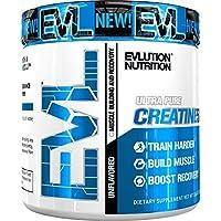 Evlution Nutrition(エボルーションニュートリション)クレアチン5000 1回分5gの純粋なクレアチンモノハイドレート 味無し(60回分)