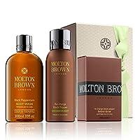 モルトンブラウン黒胡椒英雄のギフトセット - Molton Brown Black Pepper Heroes Gift Set [並行輸入品]