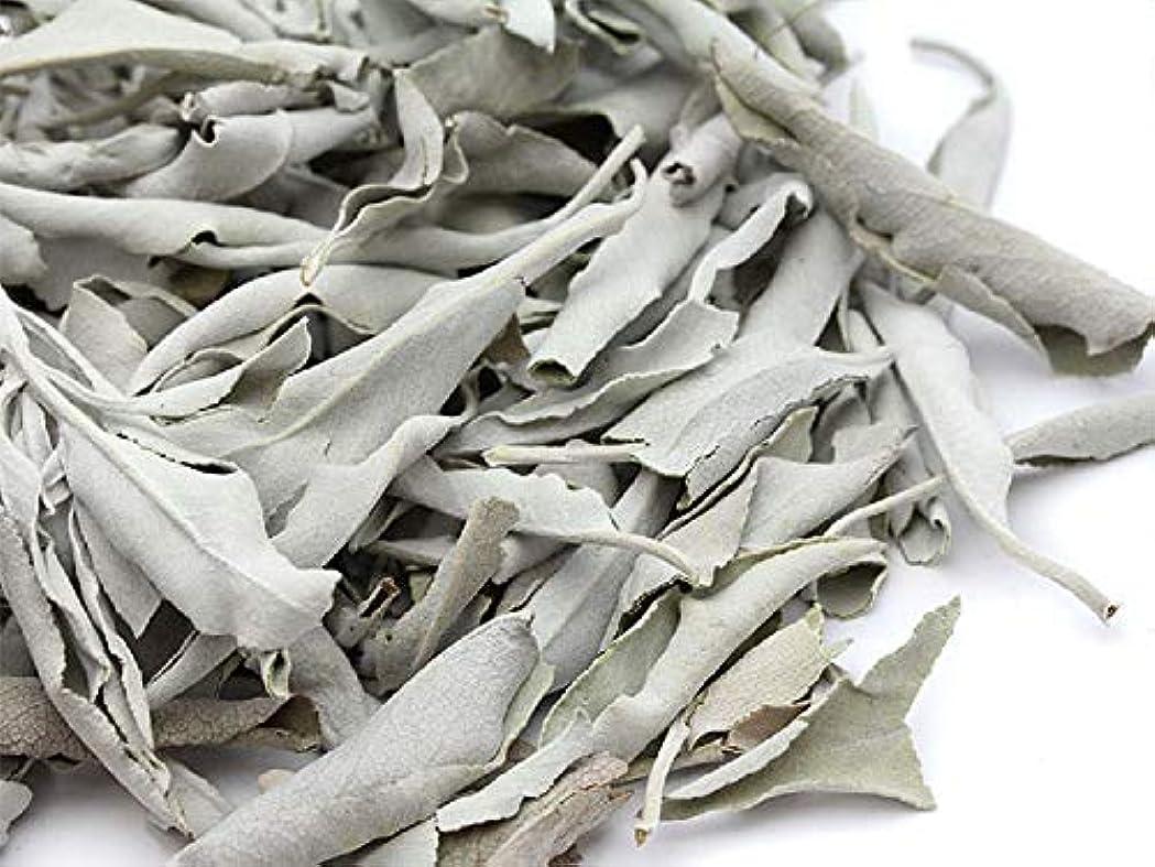 然とした名前で収束高品質 ホワイトセージ カリフォルニア産 浄化パワーストーン30g