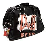 ザ・シンプソンズ  The Simpsons Bag Man Woman Men Carryall Viaggio Sport Duff Beer Matt Groening [並行輸入品]