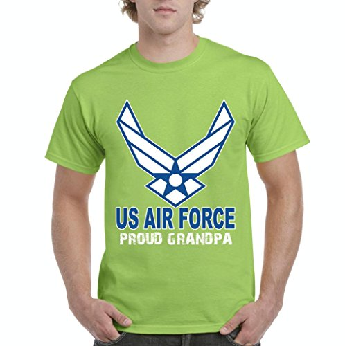 Xekia US Air Force Proud GrandpaメンズTシャツTee