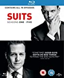 Suits - Season 1-5 [Blu-ray]