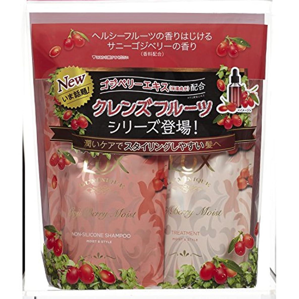 ごみ横再編成するラックス ルミニーク ゴジベリーモイスト (サニーゴジベリーの香り) つめかえ用ペア 350g+350g