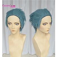 甲鉄城のカバネリ 瓜生 うりゅう 風 イベント かつら ウィッグ 仮装用cosplay wig ヘアピース 専用ネット付き