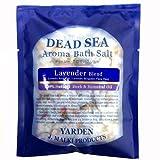 デッドシー・アロマバスソルト/ラベンダーブレンド 80g 【DEAD SEA AROMA BATH SALT】死海の塩+精油+ハーブ/入浴剤(入浴用化粧品)