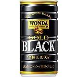 アサヒ飲料 ワンダ ゴールドブラック 185ml×30本