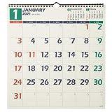 能率 NOLTY 2021年 カレンダー 壁掛け 12 B3変型 C126 ([カレンダー])