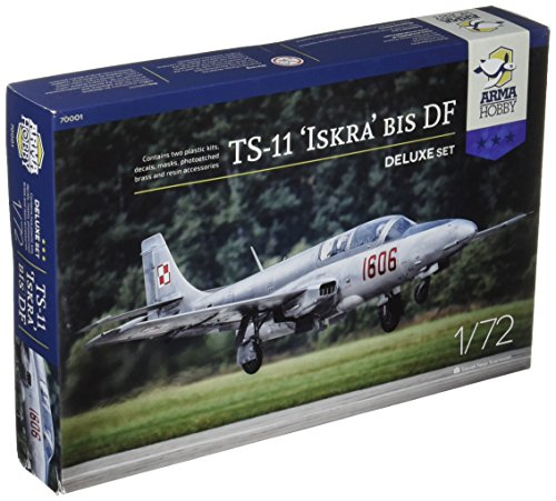 ARMA HOBBY 1/72 イスクラ TS-11bisDF 練習機デラックス版 2機入 プラモデル AP72001