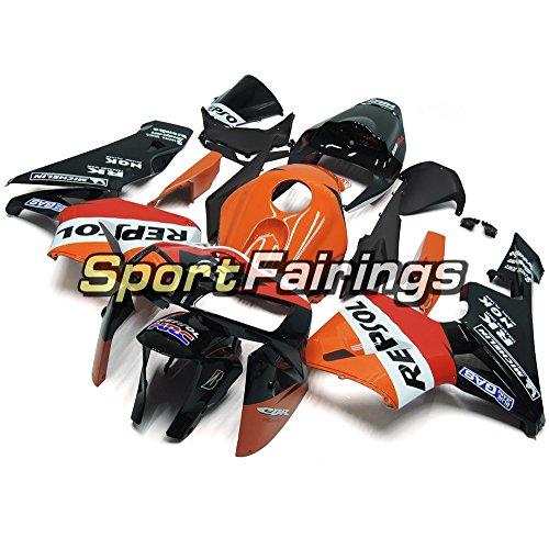 Sportfairings 外装部品の適応モデル オレンジブラックインジェクション ABS フェアリングキットホンダ CBR600RR CBR600 RR を F5 年 2005 2006 継手