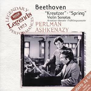 Beethoven: Kreutzer, Spring Sonatas / Perlman, Ashkenazy