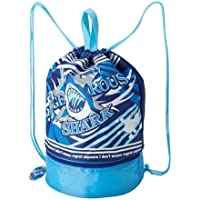 2層 式 プール バッグ 【シャーク】 スイム バッグ スイマーズ スイミング スクール 学校 海 海水浴 2段 軽量 子供 用 男の子 男児 かっこいい 格好いい クール おしゃれ