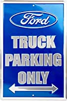 Ford Truck Parking Only Metal Parking Sign [並行輸入品]