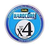 デュエル(DUEL) PEライン ハードコア X4 200m 1.2号 10m×5色マーキングシステム H3248