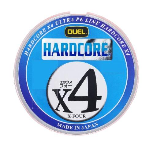 ハードコア X4 200m 2.0号 : 1m5mマーキング&10mカラーチェンジ